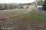 fields behind pole barn
