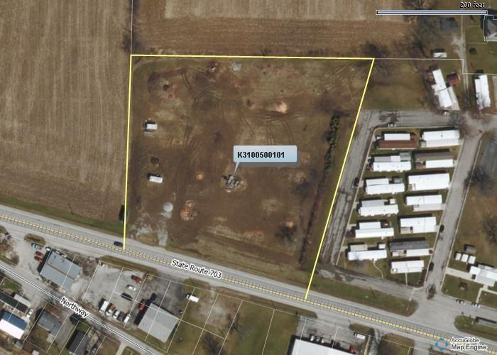 Zoned Commercial, 342 ft of road frontage. 1/3 Acre pond . Base parking lot already down. Great location for your needs, close to 29 2 Sewer hookups