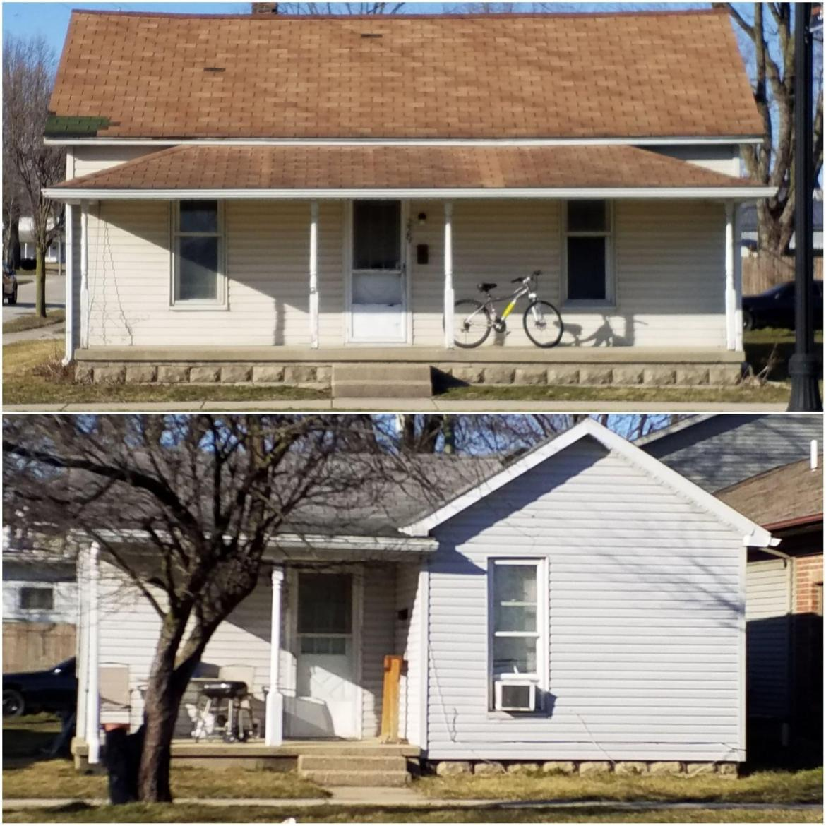 Investment opportunity. Two houses for the price of one on the same lot. Let the rent make your payment. 229 W Logan is a 1,008 sq ft 3 bed 1 bath home being rented for $625 per month + utilities. 225 W Logan is a 636 sq ft 2 bed 1 bath home being rented for $475 per month + utilities. Off-street parking is located in back. Please allow ample notice for showings as renters will need to be contacted.