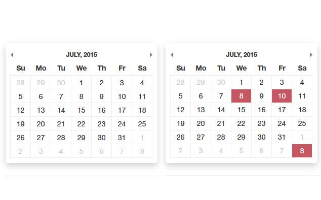 Free Availability Calendar Php Calendar Script Phpjabbers