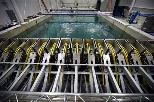 UMaine debuting ocean simulator to test sea-bound technology