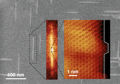 Graphene nanoribbon finding could lead to faster, more efficient electronics