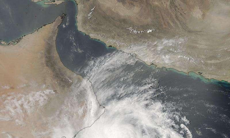 NASA sees powerful storms within Tropical Cyclone Ashobaa
