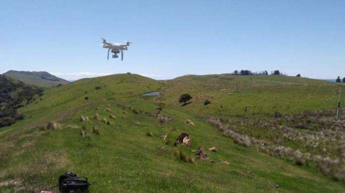 Researchers map New Zealand landslides with satellites, drones, helicopters, hiking boots