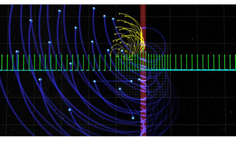 NASA finds unusual origins of high-energy electrons