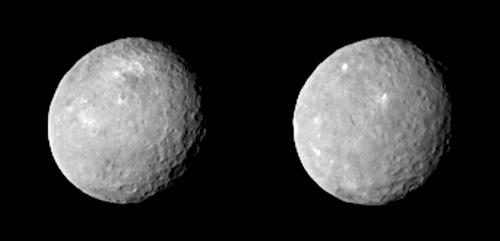 Ceres by Dawn Spacecraft