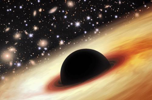 Monster agujero negro descubierto en el amanecer cósmico