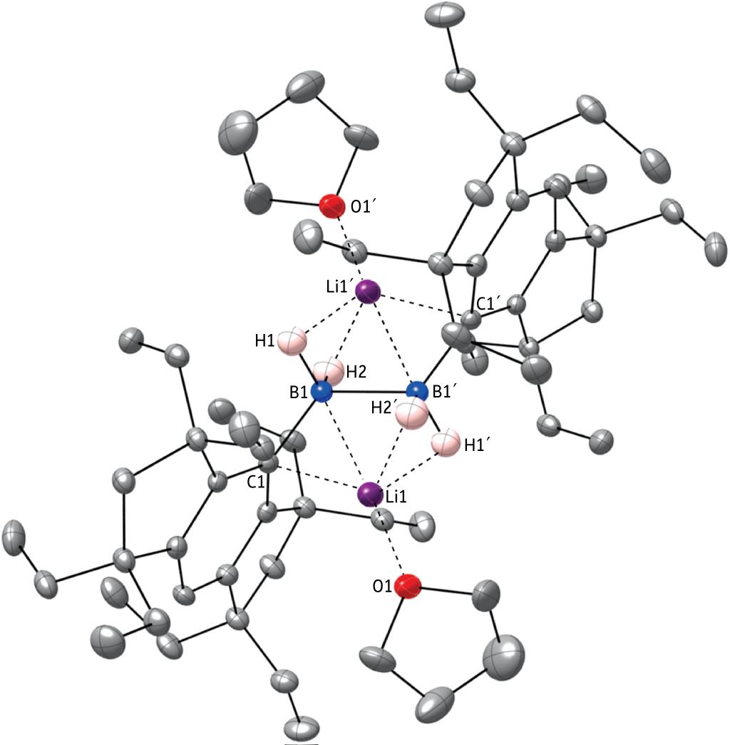 Unprecedented Formation Of A Boron Boron Covalent Bond