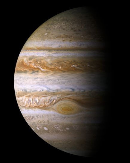This is Jupiter's Great Red Spot in 2000 as seen by NASA's Cassini orbiter. Credit: NASA/JPL/Space Science Institute  Read more at: http://phys.org/news/2016-02-dynamical-theory-knowledge-jupiter-atmosphere.html#jCp