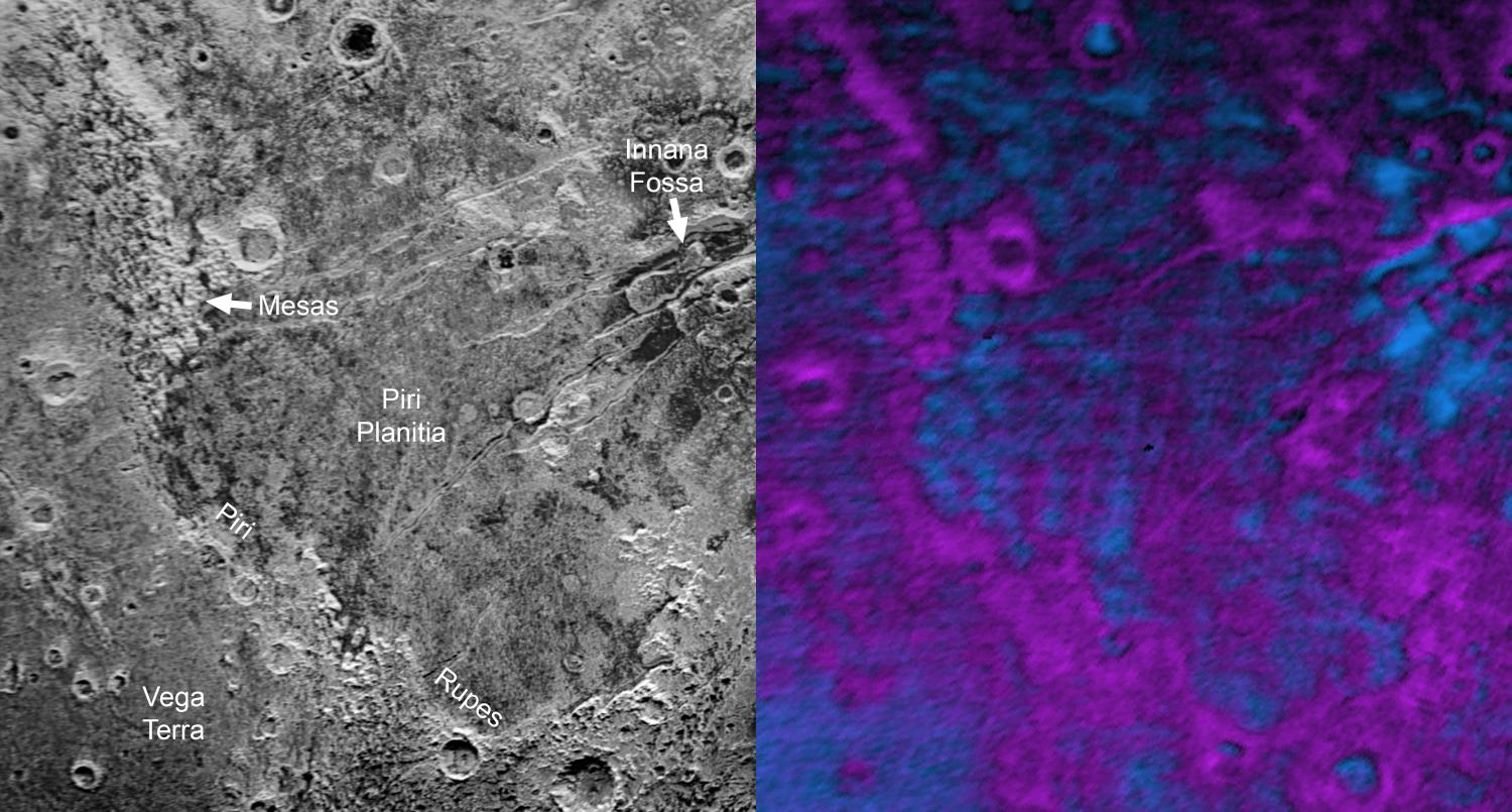 Far in the western hemisphere, scientists on NASA's New Horizons mission have discovered what looks like a giant