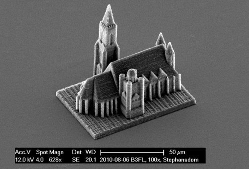 3D-printer with nano-precision
