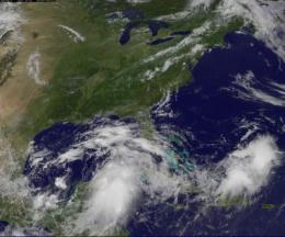 NASA sees tropical trouble brewing in southern Gulf of Mexico