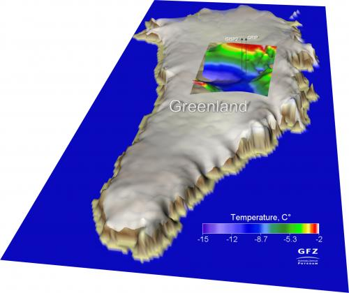 Greenland ice is melting -- also from below