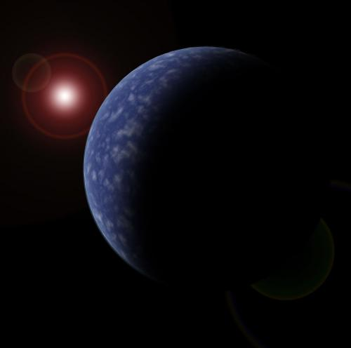 Every red dwarf star has at least one planet