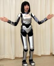 Dancing Divabot performs on stage (w/ Video)