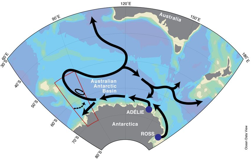 New Ocean Current