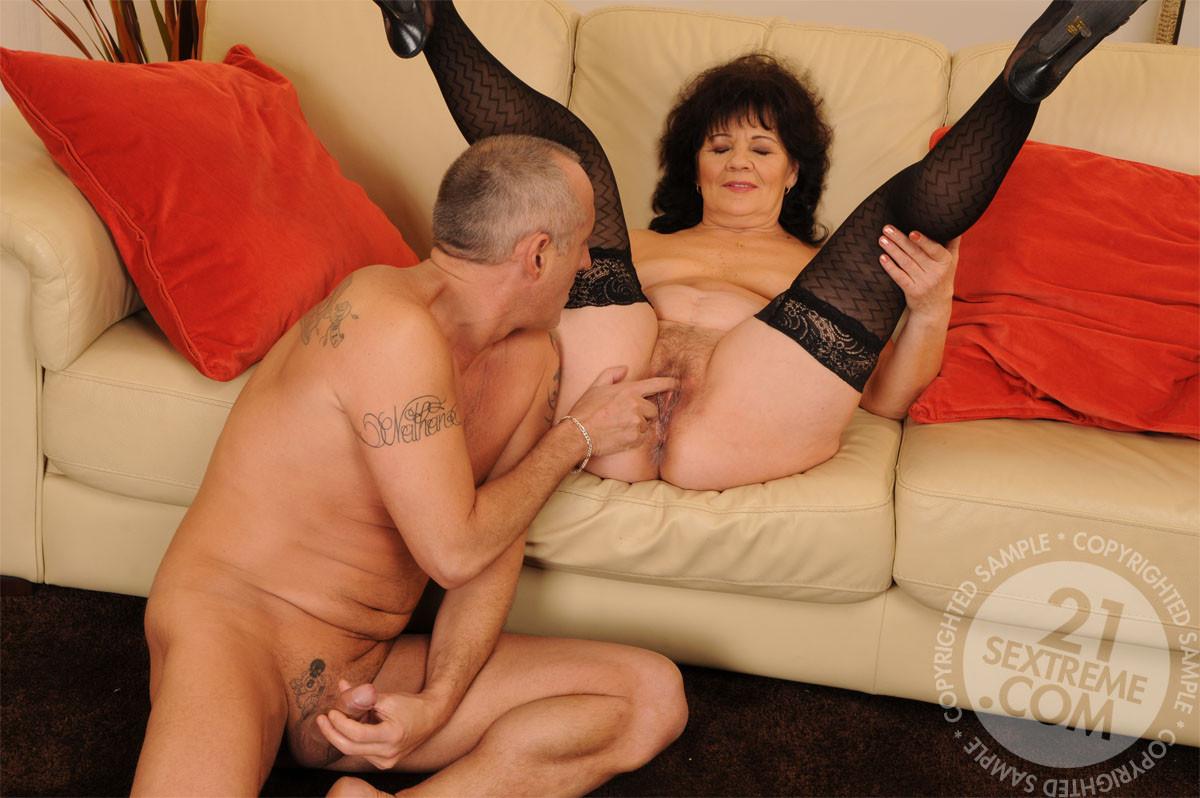 Porn Helena Stockings Granny