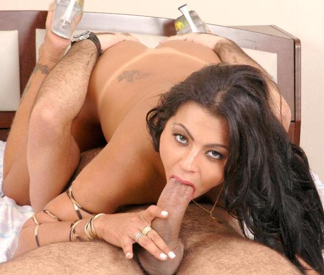 Slutty Latina Pantera Deepthroats A Big Cock And Gets Fucked In Many