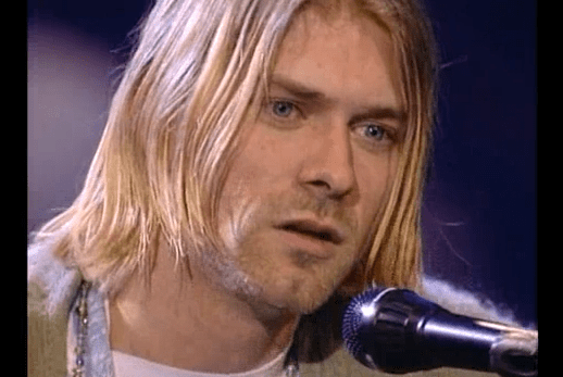 I really like Kurt Cobain's unplugged version of David Bowie's song : The man who sold the world. http://www.youtube.com/watch?v=J7UftStYuqE