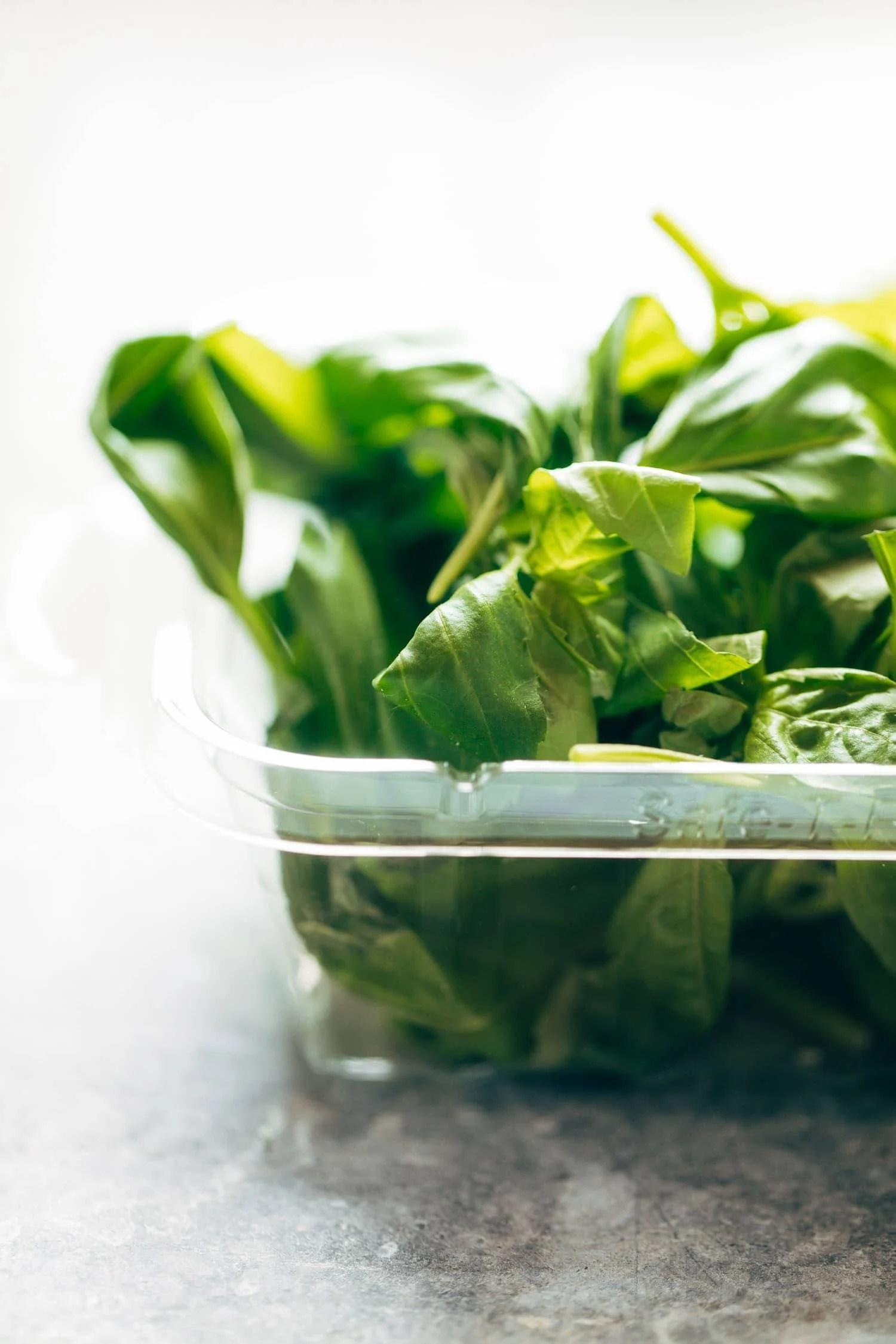 Chipotle Corn Chowder :: creamy, just a little spicy, and chock-full of summer produce like corn, zucchini, and basil. vegan, gluten free. | pinchofyum.com