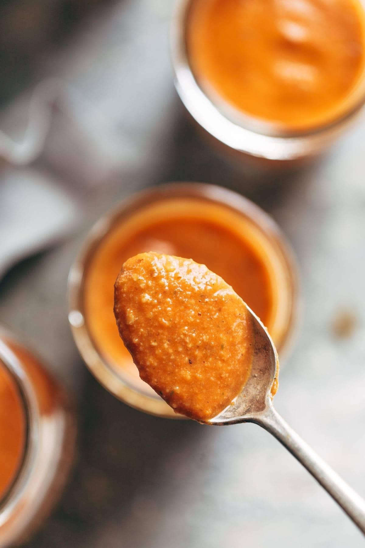 5 Minute Romesco Sauce | pinchofyum.com