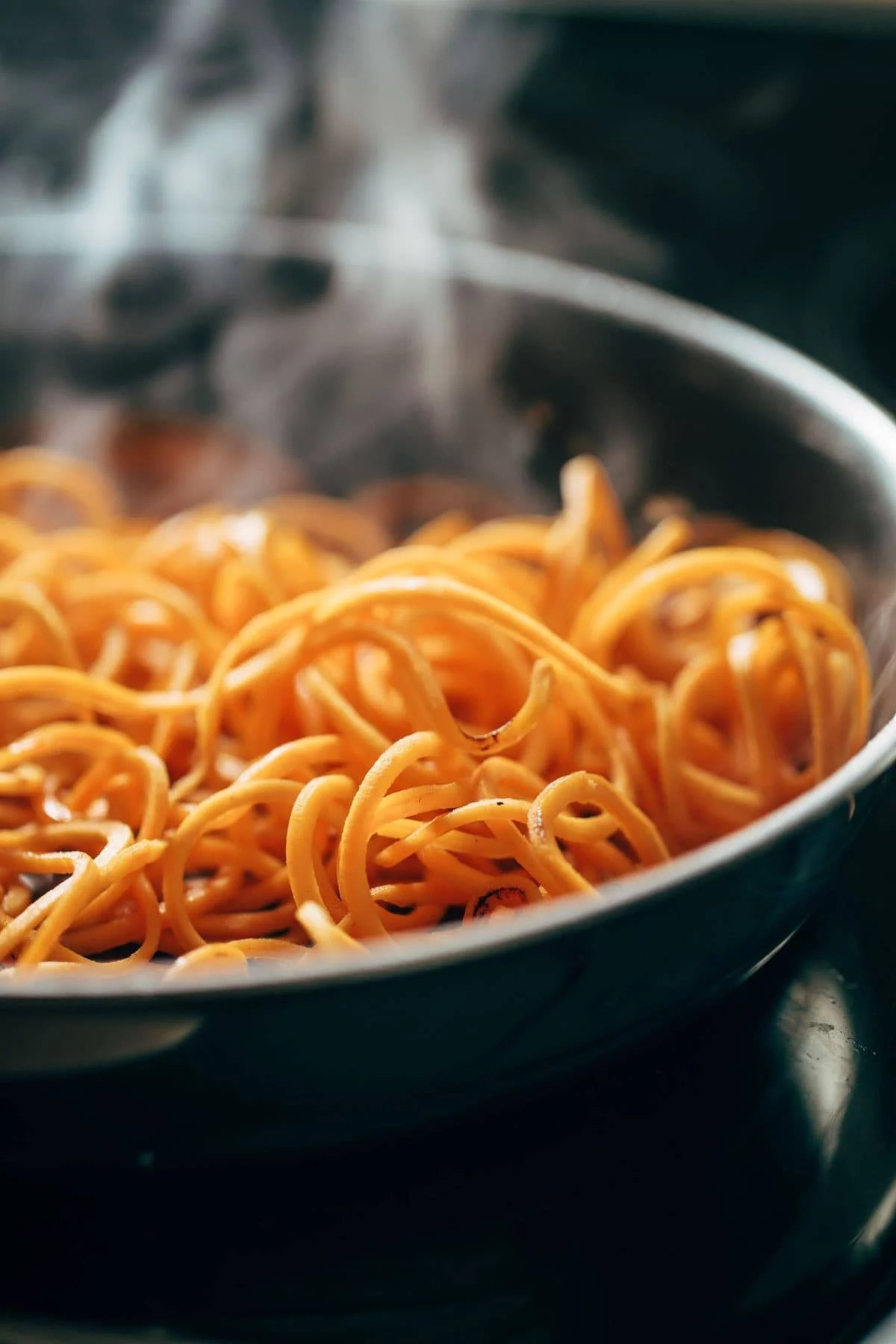 Sweet Potato Noodles | pinchofyum.com