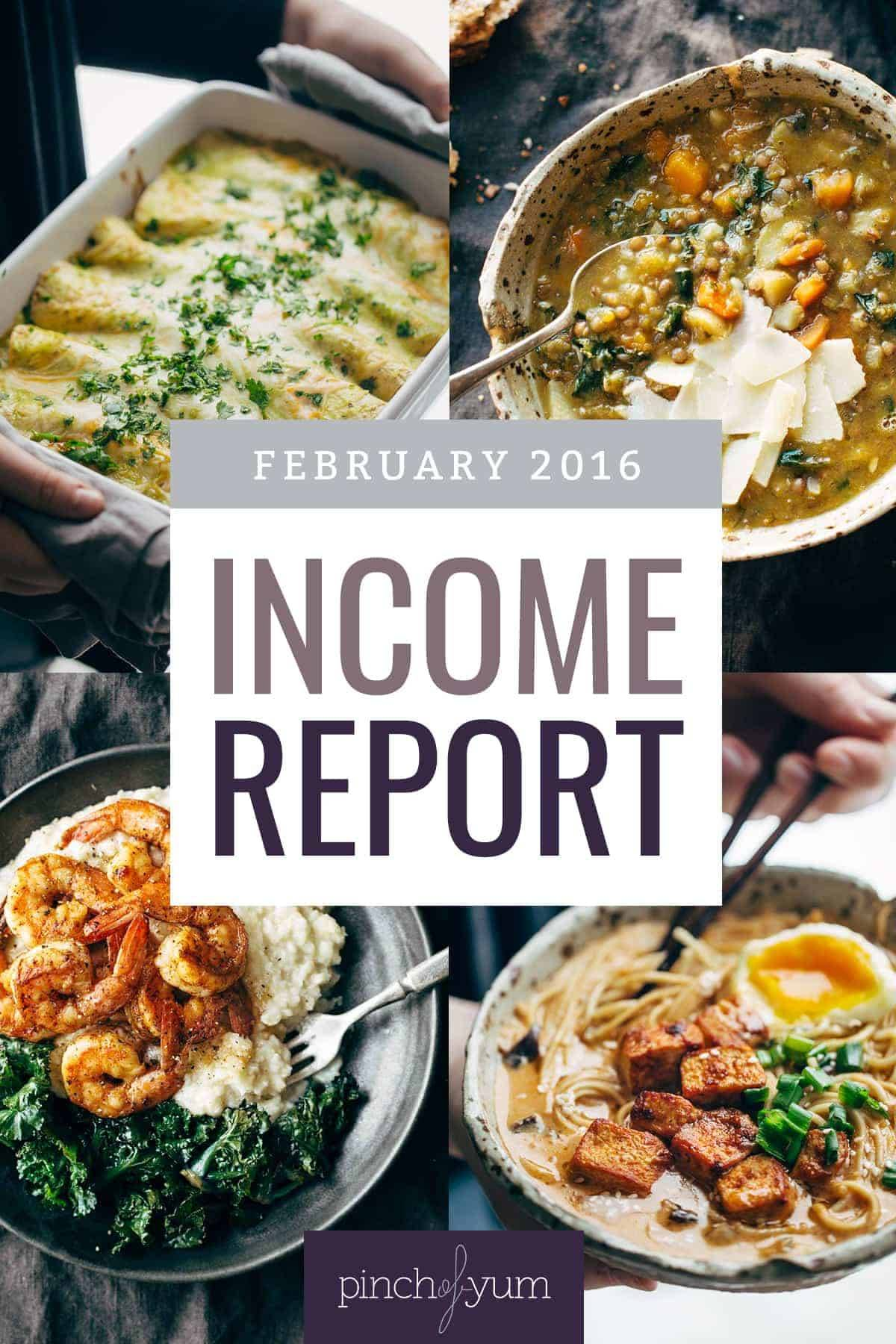 February Traffic and Income
