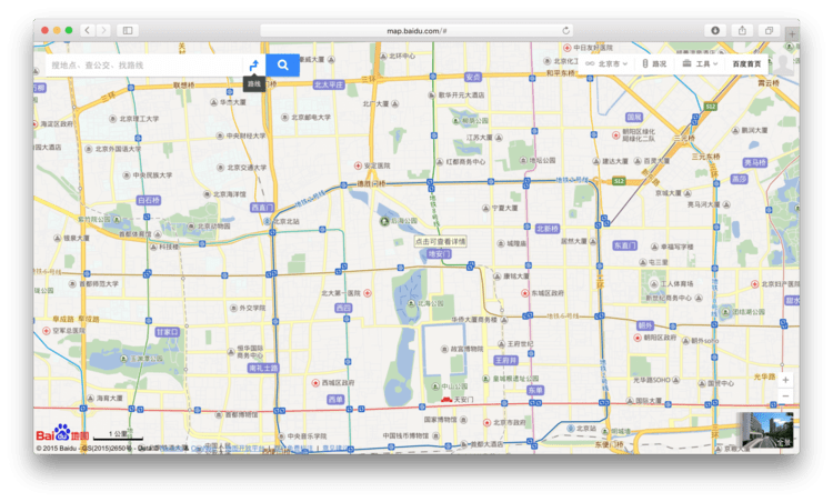 baidu-maps-web