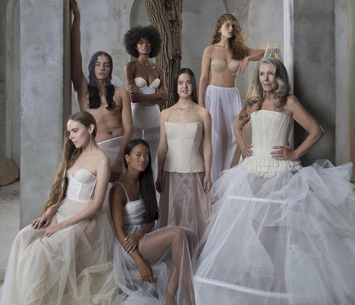 Imagen de la edición de la Valmont Barcelona Bridal Fashion Week en abril de 2020