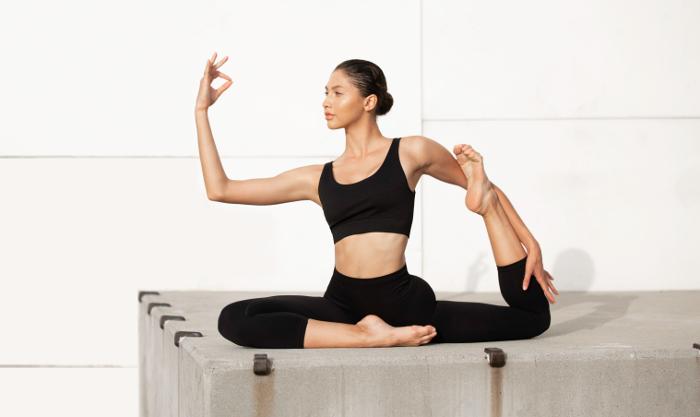 Q-Nova, Tencel , PET reciclado, activewear, sostenible, activewear sostenible, Yoga Collection, yoga, ecoalf,