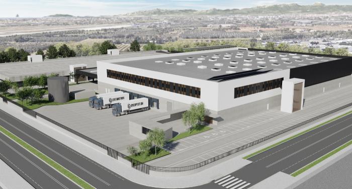 Centro de operaciones Amazon en Tarragona