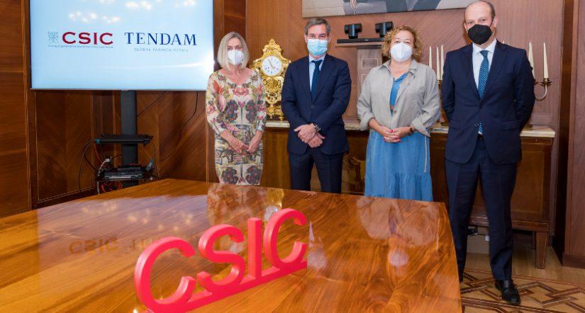 Tendam , Consejo Superior de Investigaciones Científicas, CSIC, investigación sobre el Covid-19