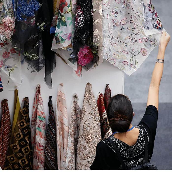 The London Textile Fair, Business Design Centre,