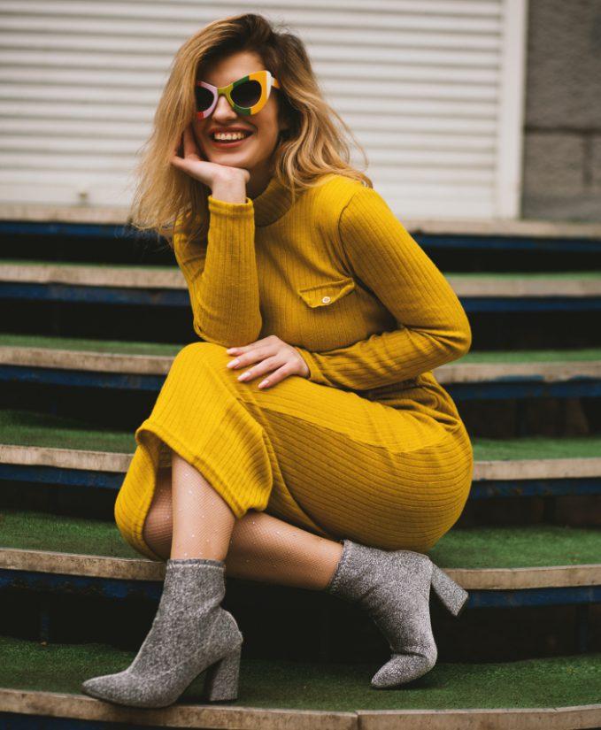 vestidos de moda, vestidos, vestidos otoño, vestido estampado, vestido de fiesta, vestido de punto, tendencias otoño invierno, vestidos 2021, vestidos 2022