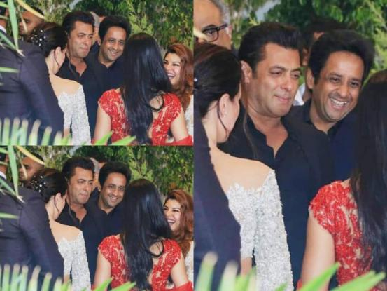 Salman at Sonam's wedding