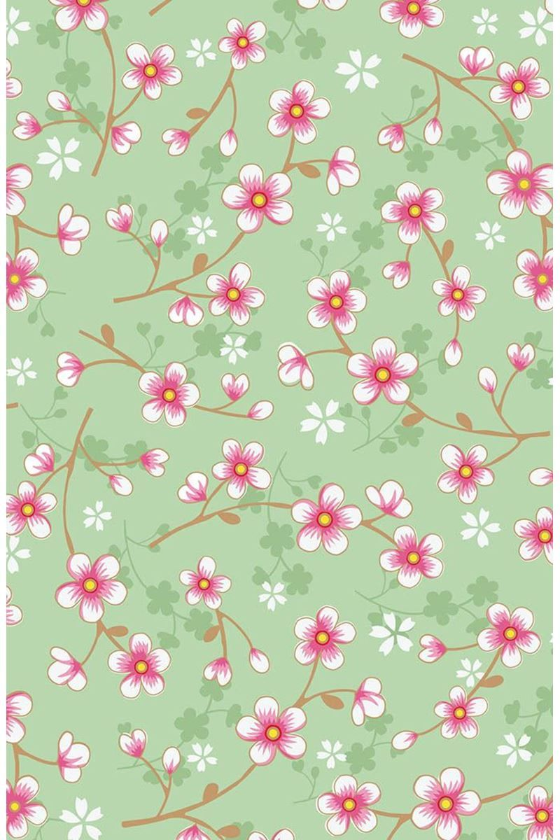 Cherry Blossom Wallpaper Green Pip Studio The Official Website