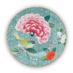 Blushing Birds Petit Four Plate Blue 12 Cm Pip Studio The Official Website