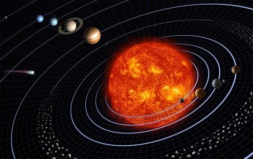 Solar System, Planet, Planetary System, Orbit, Sun