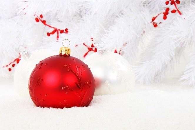 Bola de Natal, Vermelho, Bola, Comemoração, Natal