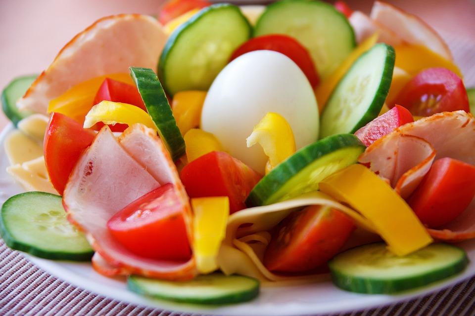 Desayuno, Cena, Huevo, Los Alimentos, Fresco, Verde