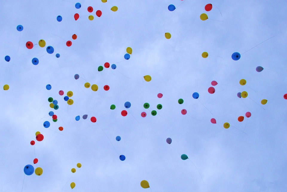 Ballonnen Ballon Kleurrijke Gratis Foto Op Pixabay