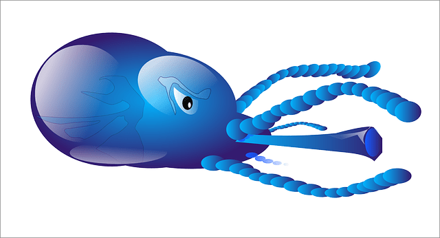 Free Vector Graphic Squid Sea Animal Monster Water