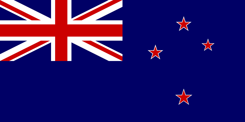 Free Vector Graphic Flag New Zealand National State