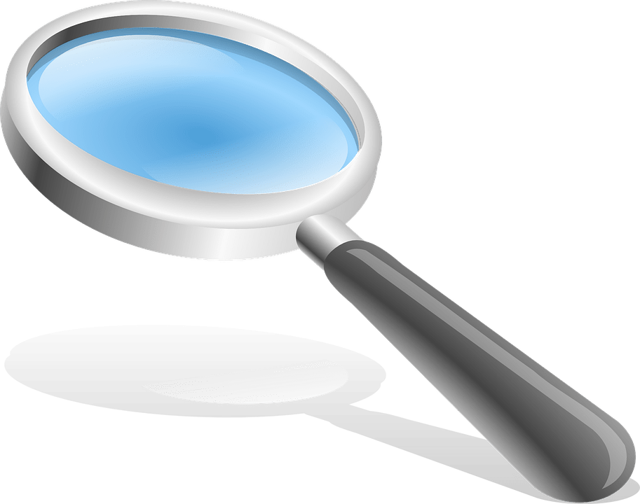 Magnifying Glass Hand · Free Vector Graphic On Pixabay