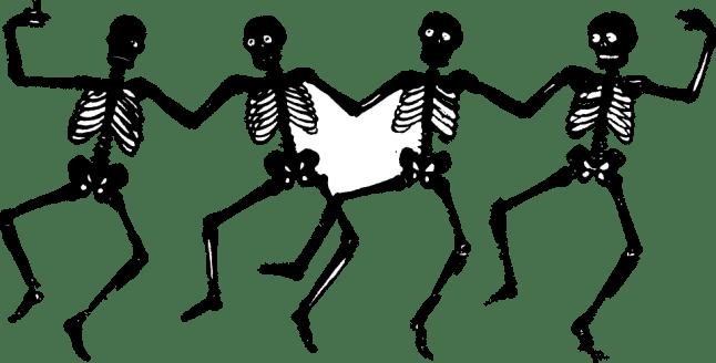 Skeletons, Human, Dancing, Funny, Halloween