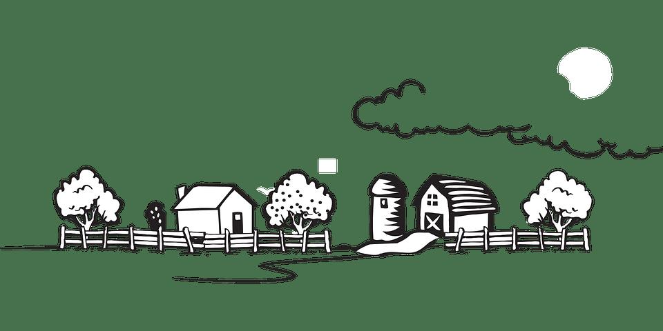 Lanskap Pedesaan Desa Gambar Vektor Gratis Di Pixabay