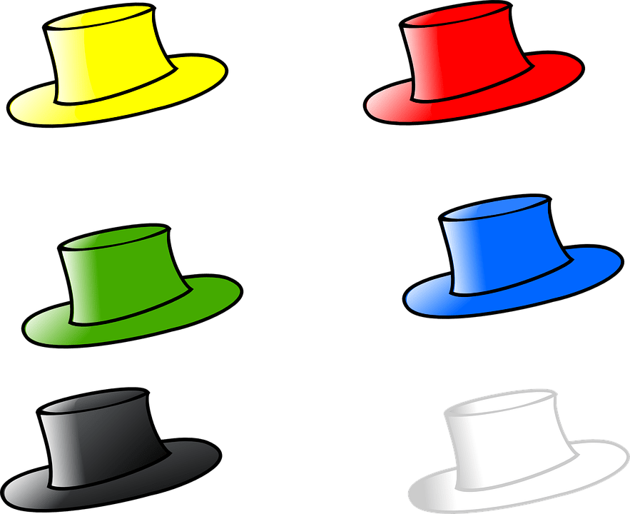 Hat Six Hats Free Vector Graphic On Pixabay