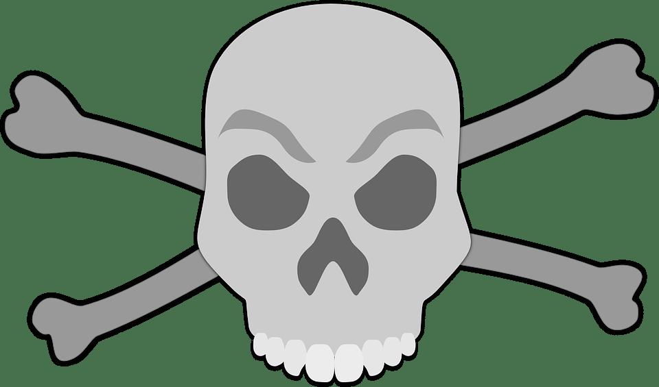 Tengkorak Manusia Mati Gambar Vektor Gratis Di Pixabay
