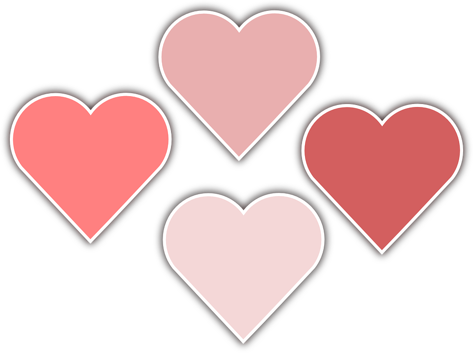 Free Vector Graphic Heart February Romantic Romance