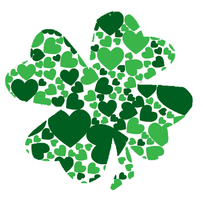 Download Free vector graphic: Green, Shamrock, March, Love - Free ...
